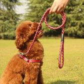狗狗牽引繩小型犬中型犬遛狗繩子泰迪狗錬子胸背帶寵物用品  可然精品鞋櫃