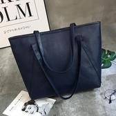 托特包-單肩包女2020新品防水手提包大包包學生書包大容量休閒托特包 Korea時尚記