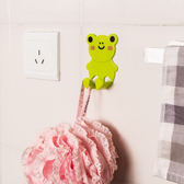 ♚MY COLOR♚卡通動物插座支架(2入) 創意 可愛 掛鉤 強力無痕 黏鉤 壁掛 居家 廚房 臥室【P251】