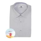 【南紡購物中心】【PIERRE BALMAIN 皮爾帕門】長袖襯衫-吸濕排汗白底黑細條紋(F1)