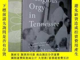 二手書博民逛書店(英文原版)A罕見Religious Orgy in Tenne