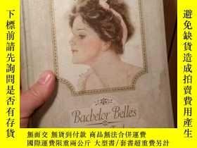 二手書博民逛書店【包罕見】Bachelor Bells,精美彩色女性繪畫圖冊,H