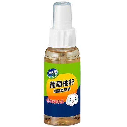 南僑水晶葡萄柚籽噴霧乾洗手70ml【愛買】