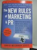 【書寶二手書T3/財經企管_YKF】The New Rules of Marketing & PR: How t
