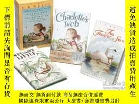二手書博民逛書店Three罕見Beloved Classics By E.b. WhiteY255562 [美] 埃爾文·布魯