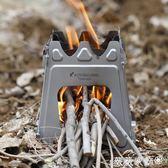 野營爐子 攬勝純鈦戶外柴火爐木炭爐便攜加厚取暖爐子折疊爐野營爐具小灶臺 薇薇家飾