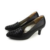 HUMAN PEACE  低跟鞋 尖頭鞋 黑色 女鞋 053525AB no276