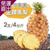 沁甜果園SSN- 金鑽鳳梨4台斤(2支裝) E00900115【免運直出】