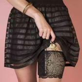 2件性感蕾絲女士戶外便攜手機雜物工具收納包大腿包綁腿圈