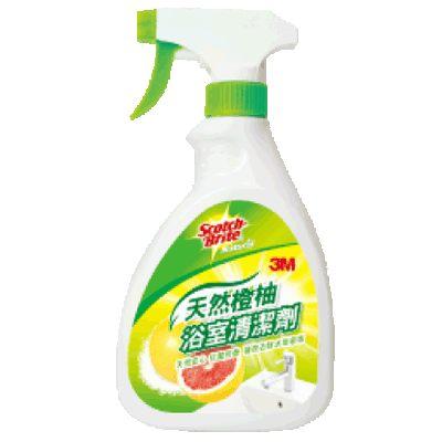【奇奇文具】3M 天然橙柚浴室清潔劑/浴廁清潔劑 (500ml)