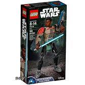 樂高積木LEGO《 LT75116 》2016年 STAR WARS 星際大戰系列 - Finn ★ JOYBUS玩具百貨