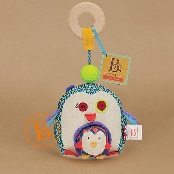 【美國B.Toys】企鵝愛抱抱
