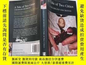 二手書博民逛書店A罕見Tale of Two Cities 雙城記 英文原版小說