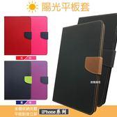 【經典撞色款】APPLE New IPad 4 9.7吋 平板皮套 側掀書本套 保護套 保護殼 可站立 掀蓋皮套
