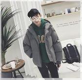 新年鉅惠 冬季ulzzang寬寬鬆棉衣男士韓版加厚大棉襖學生潮流保暖面包服外套