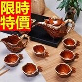 茶具組合 全套含茶壺茶杯茶海-汝窯品茗功夫茶送禮58i30[時尚巴黎]