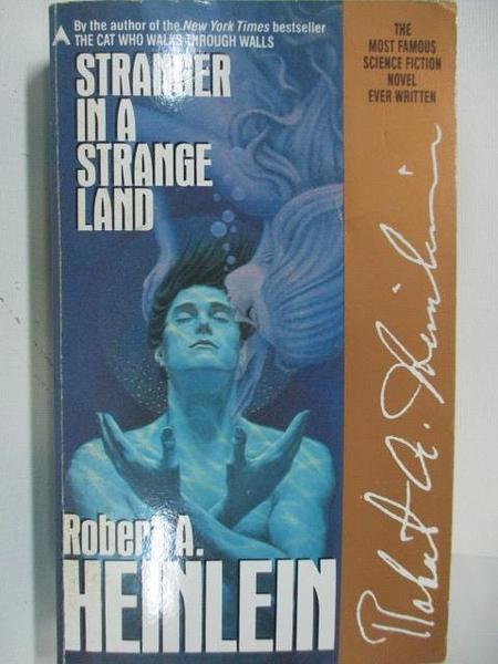 【書寶二手書T1/原文小說_ALP】Stranger in a Strange Land_Robert A. Heinlein
