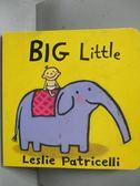 【書寶二手書T1/少年童書_NJH】Big Little_Patricelli, Leslie/ Patricelli, Leslie (ILT)