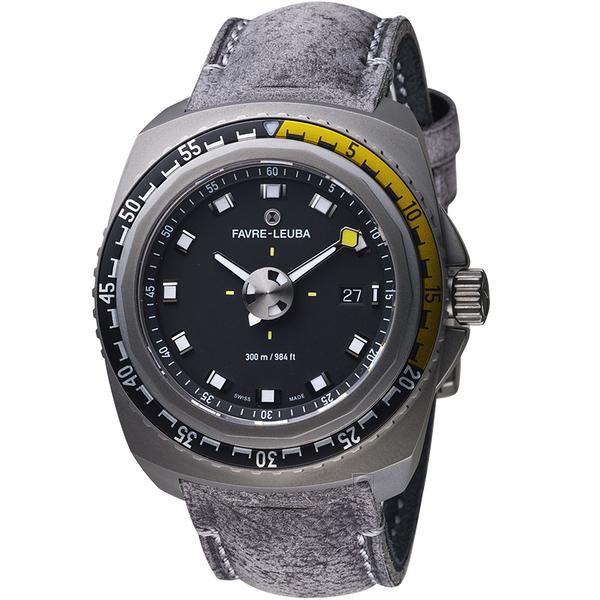 Favre-Leuba域峰表RAIDER系列DEEP BLUE腕錶 00.10122.10.14.45
