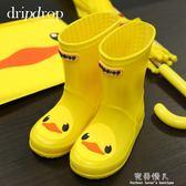 兒童雨鞋男童女童寶寶膠鞋萌物雨靴可愛防滑水鞋春夏 完美情人精品館