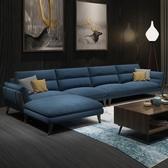 沙發標爵北歐沙發客廳小戶型布藝沙發組合簡約現代全實木沙發整裝家具 現貨快出YJT