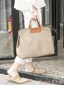牛津布包 牛津布防水側背斜背包女手提包旅行袋韓版公文包簡約大容量媽咪包  新品