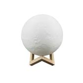 創意3D火星燈/床頭小夜燈(觸摸雙色黃光10cm)【小三美日】※禁空運