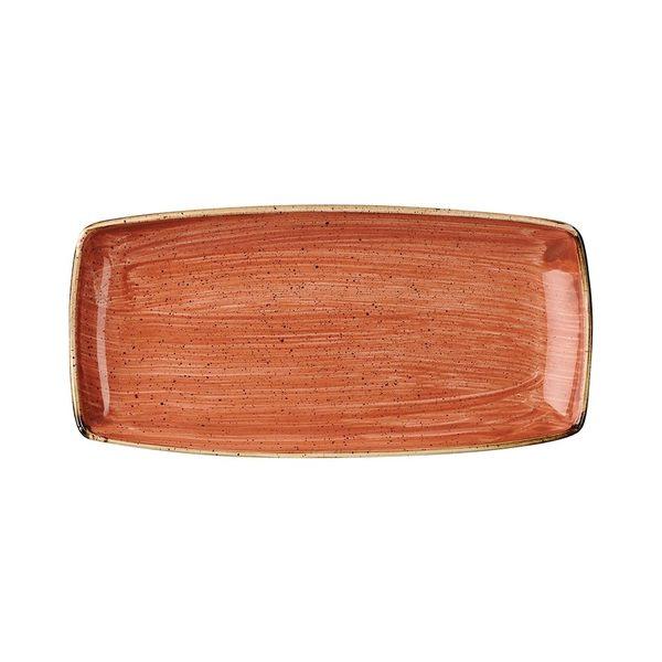 英國Churchill 點藏系列 - 長方29.5*15cm盤(彩橘色)
