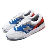 New Balance 復古慢跑鞋 997 NB 白 藍 麂皮鞋面 運動鞋 男鞋 女鞋【ACS】 CM997HZJD