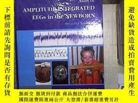 二手書博民逛書店Atlas罕見of AMPLITUDE-INTEGRATED EEGs in the NEWBORN Second