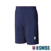 K-SWISS KS Knit Shorts運動短褲-男-藍