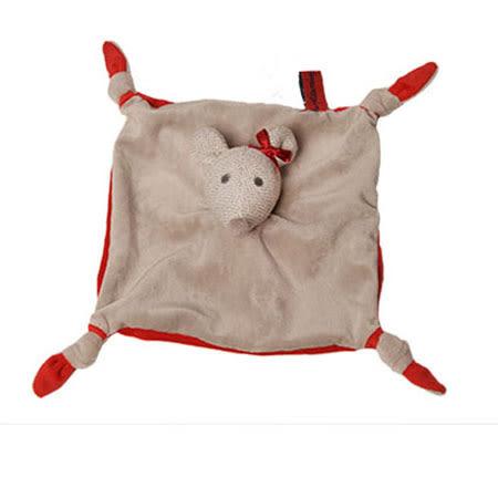 法國 Doudou 安撫巾-紅點點小老鼠 30cm【Les Petites Marie】