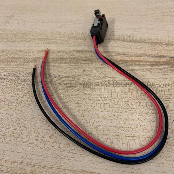 歐姆龍OMRON引線式防水微動開關一開一閉觸頭觸點(30公分/777-10153)