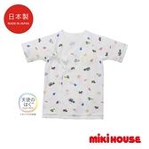 MIKI HOUSE BABY 日本製 車車新生兒紗布衣