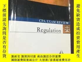 二手書博民逛書店Regulation罕見CPA EXAM REVIEW [V1.