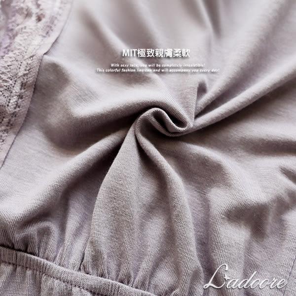 台灣製造 Ladoore 朵兒的祕密花園 MIT蘭精木代爾棉柔家居服(淺紫)
