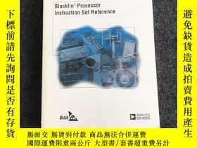 二手書博民逛書店Blackfin罕見Processor Instruction