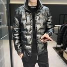 羽絨服男 男士羽絨服潮牌2021年冬季新款帥氣外套冬裝潮流短款加絨衣服【快速出貨八折搶購】