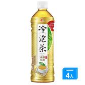 光泉冷泡茶-冰釀烏龍(無糖)585mlx4入【愛買】