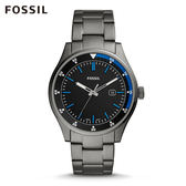 FOSSIL BELMAR 灰色不鏽鋼手錶 男FS5532