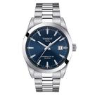 ◆TISSOT◆GENTLEMAN POWERMATIC 80 SILICIUM  紳士款機械錶 T127.407.11.041.00 藍X銀