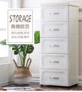 38寬歐式儲物柜抽屜式衣服收納箱內衣整理...