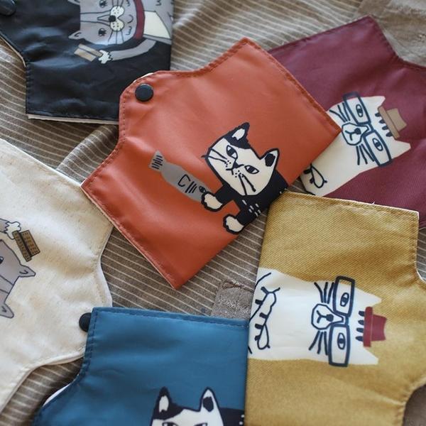 不可缺的優品神器出口日本口罩包收納口罩袋便攜布藝可折疊暫存夾 小山好物