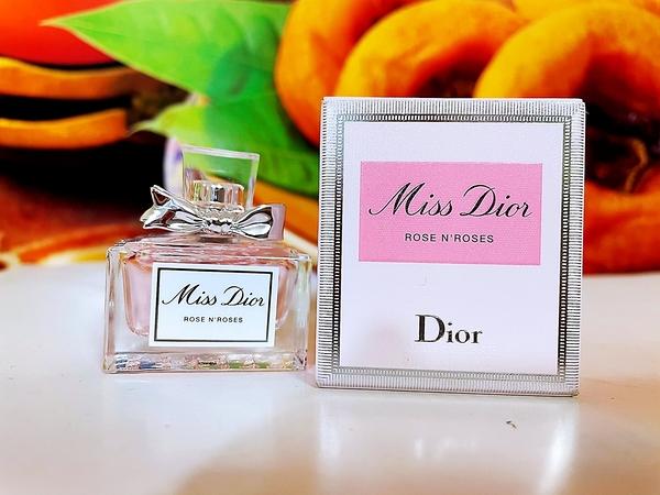 DIOR 迪奧 Miss Dior 漫舞玫瑰淡香水5ml 百貨公司專櫃小樣盒裝