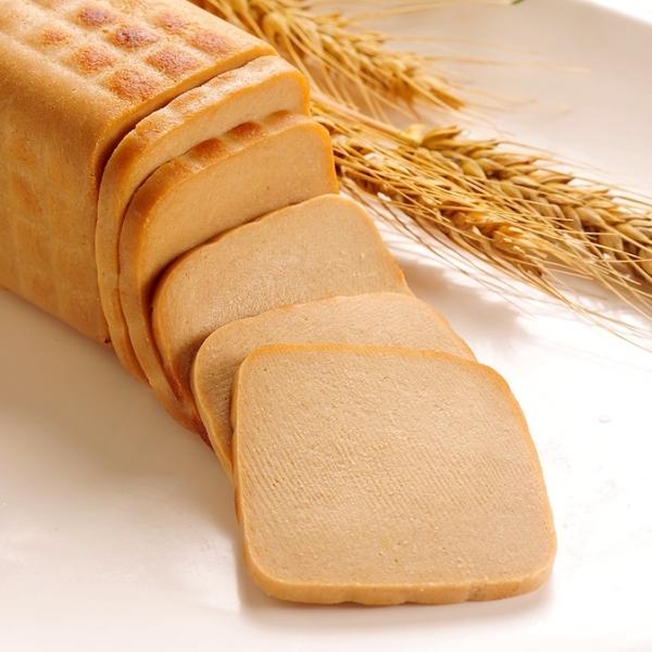 小麥火腿(方)1kg*愛家非基改純淨素食 素料 全素料理 純素美食 健康蔬食 可製純素叉燒肉