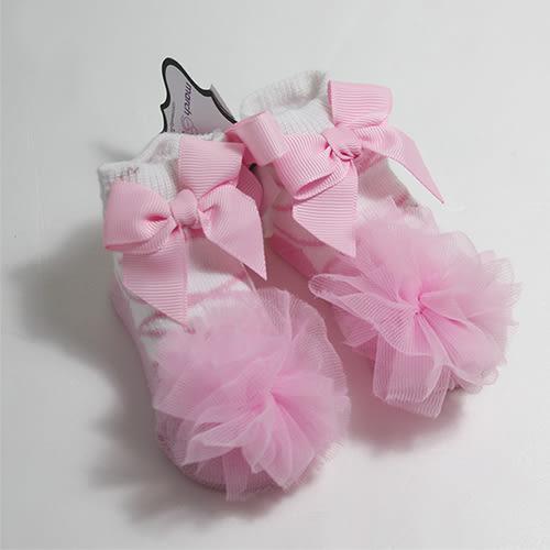 美國【Mud Pie】- 造型嬰兒襪/童襪雪紡襪-芭蕾舞者款