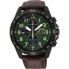 SEIKO 精工 PROSPEX 太陽能計時手錶-綠x咖啡/44mm V176-0BB0G(SSC739P1)