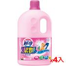 新奇潔艷漂白水沁雅薔薇香瓶裝3L*4入(箱)【愛買】
