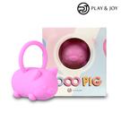 Play&joy CoCo Pig 男女共用跳蛋 (粉色)