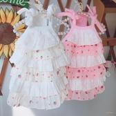 初秋款~草莓蛋糕裙子 寵物衣服狗狗泰迪幼犬貓咪約克夏比熊服裝「時尚彩虹屋」